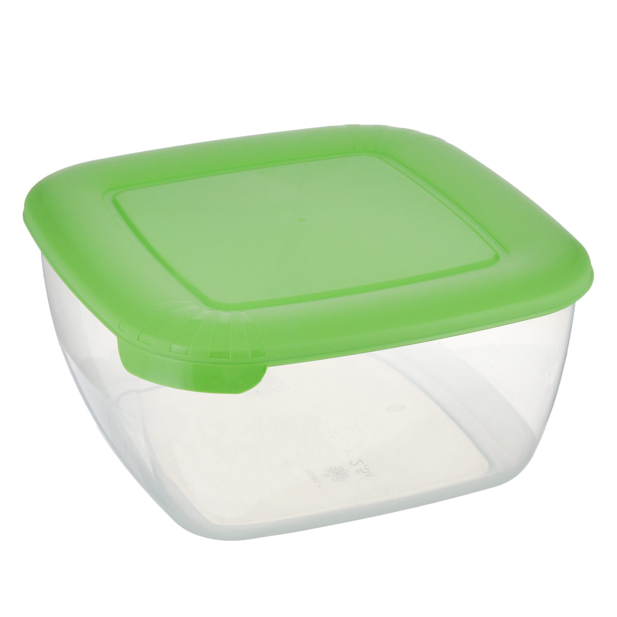 """Контейнер Полимербыт """"Лайт"""" квадратной формы, изготовленный из прочного пластика, предназначен специально для хранения пищевых продуктов. Крышка легко открывается и плотно закрывается.   Контейнер устойчив к воздействию масел и жиров, легко моется. Прозрачные стенки позволяют видеть содержимое. Контейнер имеет возможность хранения продуктов глубокой заморозки, обладает высокой прочностью. Подходит для использования в микроволновых печах.  Можно мыть в посудомоечной машине."""