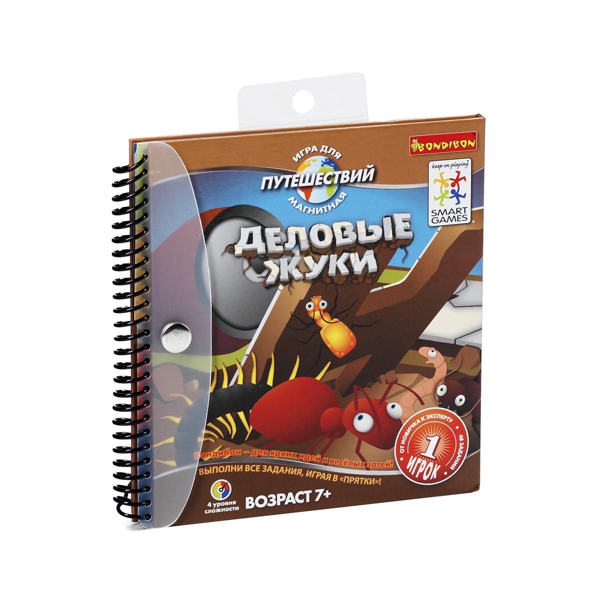 Bondibon Обучающая игра Деловые жуки, Bondibon Creatures Co., LTD