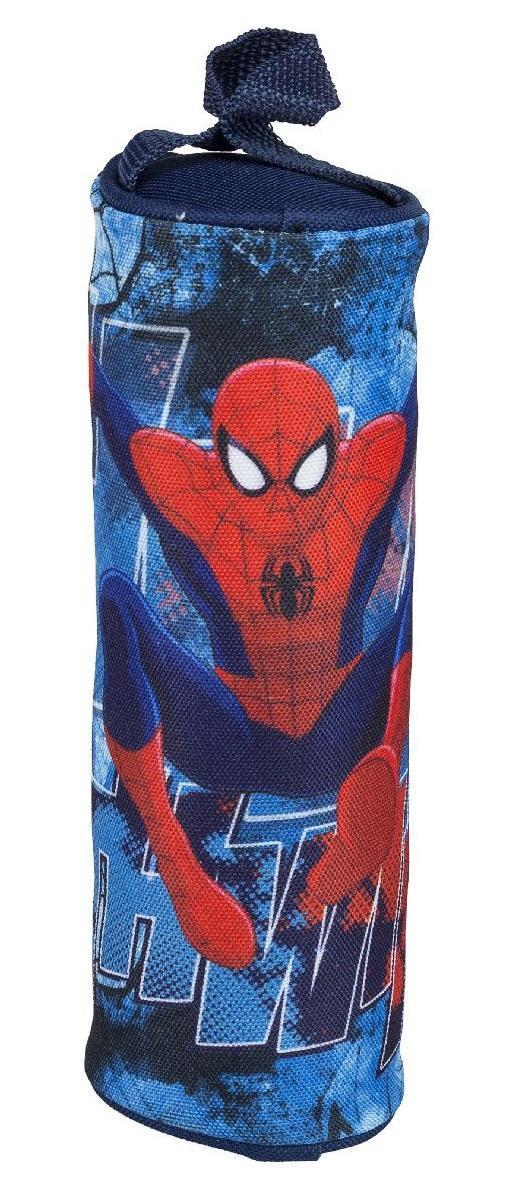Пенал-тубус. Spider-man ClassicSMCB-RT2-429Школьный пенал для канцелярских принадлежностей вместит в себя все самое необходимое для учебы. Пенал очень яркий и красочный. Изображения любимых героев мультфильмов поднимут настроение ученику, что тоже немаловажно.Пенал имеет надежный замок-молнию.