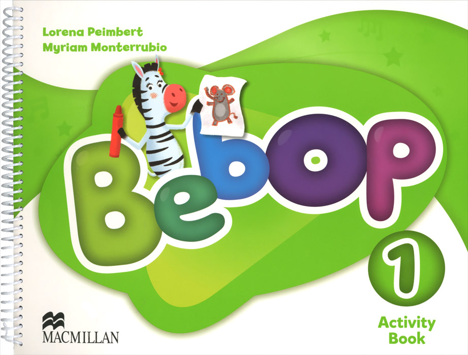 Bebop 1 Activity Book first english words activity book 1