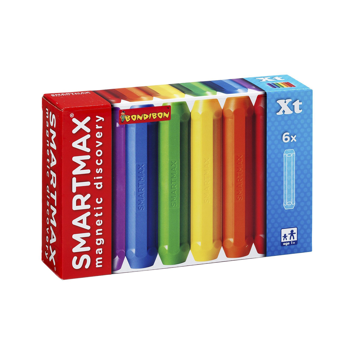 Bondibon Smartmax Конструктор магнитный Дополнительный набор ВВ0875