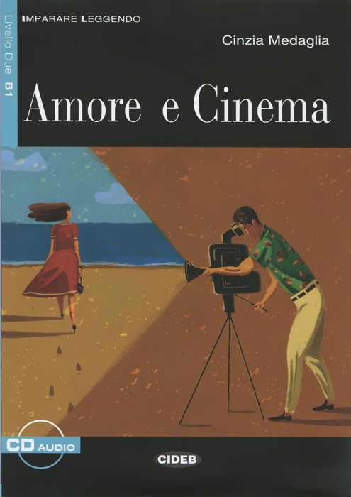 все цены на  Amore e cinema: Livello due B1 (+ CD)  в интернете
