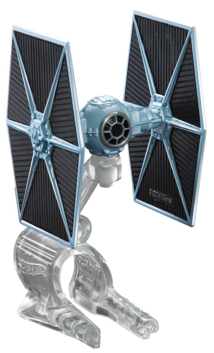 Hot Wheels Star Wars Звездный корабль The Fighter цвет серый hot wheels star wars звездные корабли tie fighter vs millennium falcon