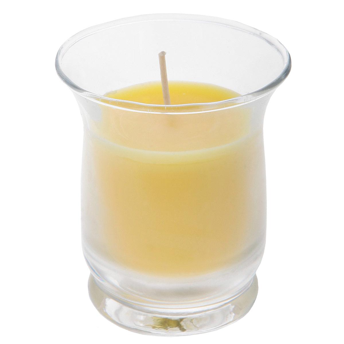 Свеча ароматизированная Sima-land Романтика, высота 7 см свеча ароматизированная sima land лимон на подставке высота 6 см
