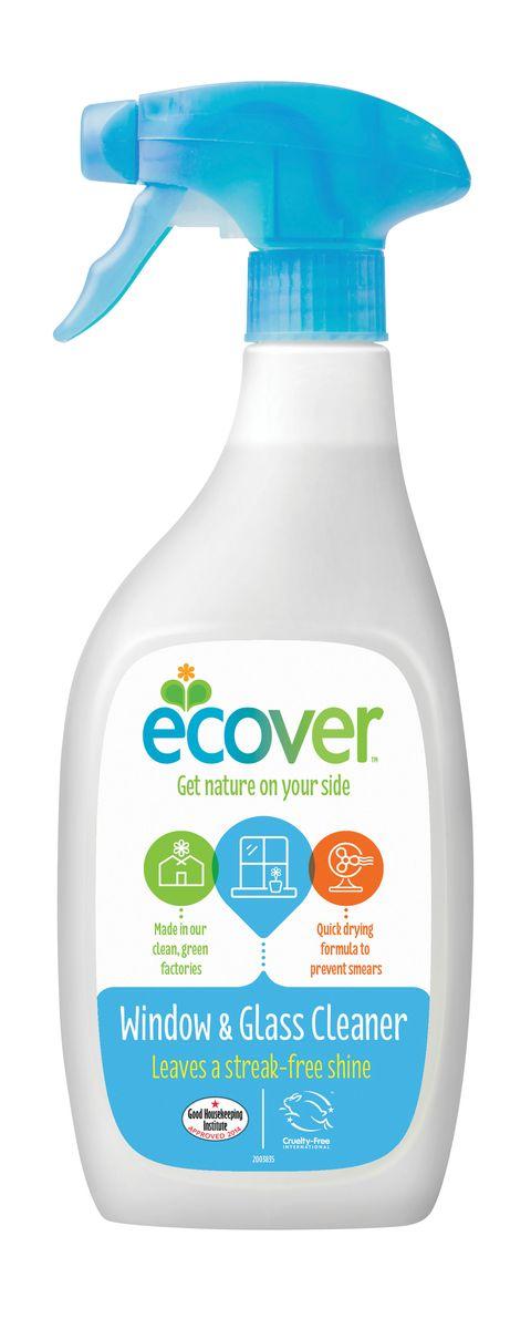 Экологический спрей Ecover для чистки окон и стеклянных поверхностей, 500 мл спрей для чистки свч topperr 500 мл