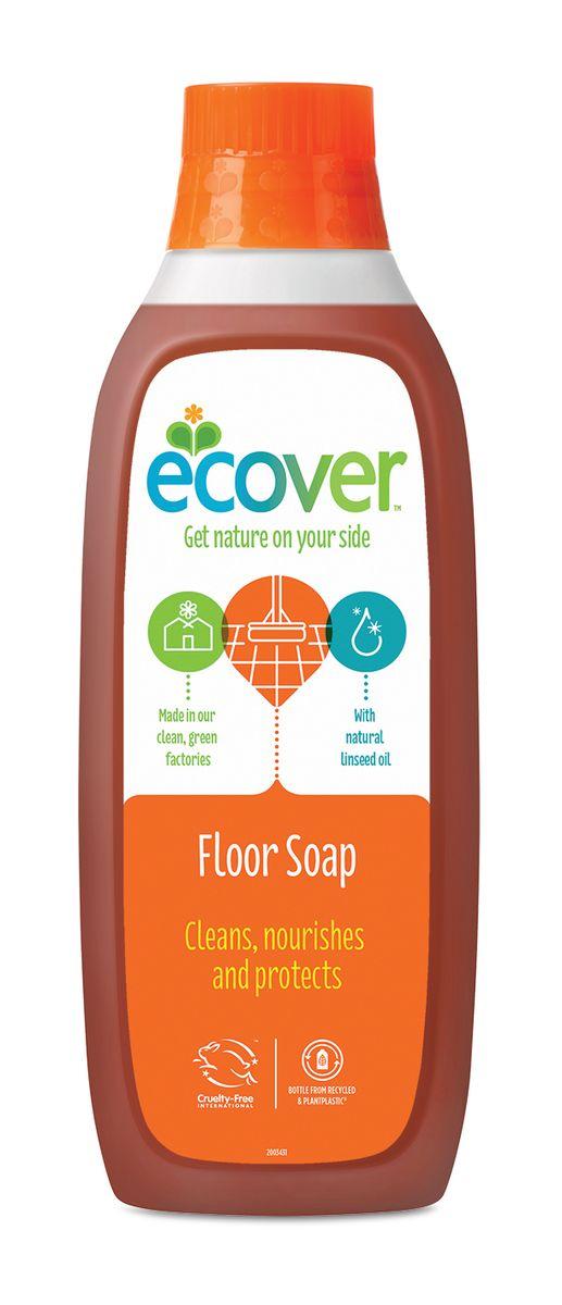 Жидкий концентрат для мытья пола Ecover, с льняным маслом, 1 л жидкий концентрат для мытья пола ecover с льняным маслом 1 л