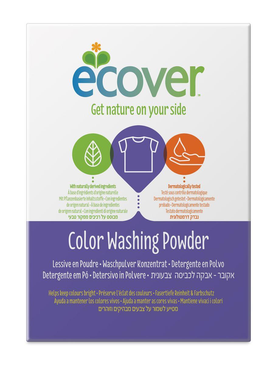 Экологический стиральный порошок Ecover, концентрат, для цветного белья, 1,2 кг40027Очень эффективный стиральный порошок-концентрат Ecover предназначен для стирки цветного белья. Подходит к использованию для детей от 2-х лет и взрослых. Порошок создан на основе растительных ПАВ. Улучшенная формула содержит небольшое количество бережного кислородного отбеливателя для удаления таких загрязнений как пятна от вина, фруктов, травы и т.д. Прекрасно выполаскивается. Новая формула средства позволяет использовать меньше порошка и обеспечивает на 25% больше стирок! При машинной стирке не требуется добавление средств для смягчения воды и предотвращения образования накипи (типа Calgon). Обладает легким натуральным ароматом. Не содержит фосфатов и синтетических ароматизаторов. Содержит энзимы (не ГМО) и натуральный кислородный отбеливатель. Подходит для использования в домах с автономной канализацией. Не наносит вреда любым видам септиков! Характеристики:Состав: 15-30% анионные био-ПАВ цеолиты, 5-15% неионные ПАВ, силикат натрия, карбонат натрия, бикарбонат натрия, полипептидное мыло, карбоксиметил целлюлозы, отдушка, сульфат натрия, цитрат натрия, энзимы, этилендиамин диссуцинат. Объем: 1,2 кг. Товар сертифицирован.