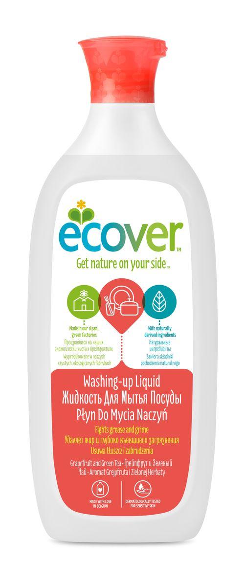 Экологическая жидкость для мытья посуды Ecover, с грейпфрутом и зеленым чаем, 500 мл00980Эффективное моющее средство Ecover со свежим ароматом грейпфрута и зеленого чая, созданное на основе экологически чистых ПАВ из соломы и пшеничных отрубей. Прекрасно очищает и удаляет жиры, не оставляет химикатов на посуде. Великолепно смывается водой. Не вызывает раздражений и аллергических реакций на коже, дополнительно содержит экстракты бархатцев и алое вера для защиты рук, что позволяет мыть посуду без перчаток. Не содержит синтетических ароматизаторов и нефтепродуктов. Уровень pH: 4.5. Подходит для использования в домах с автономной канализацией. Не наносит вреда любым видам септиков! Характеристики:Состав: >30% вода; 5-15% анионные ПАВ;Объем: 500 мл. Товар сертифицирован.Как выбрать качественную бытовую химию, безопасную для природы и людей. Статья OZON Гид