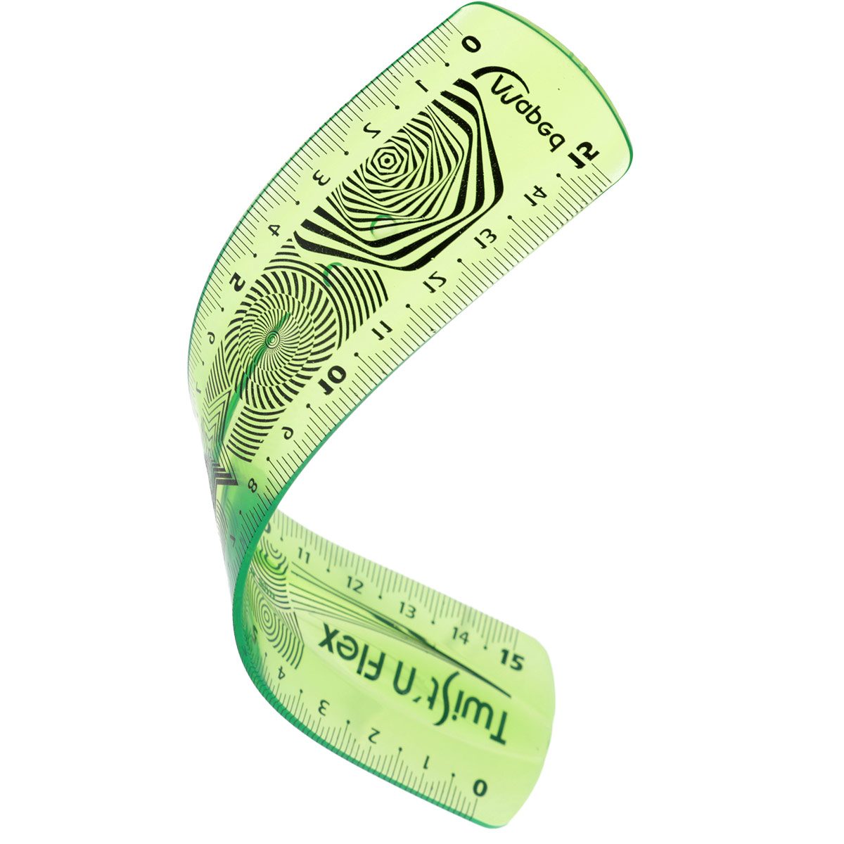 Линейка Maped Twistnflex, гибкая, цвет: зеленый, 15 см279110 зеленыйЛинейка Maped Twistnflex - это неломающаяся линейка, которую можно сгибать и скручивать неограниченное количество раз. После непродолжительного времени принимает первоначальную форму и не деформируется. Можно использовать как антистресс.
