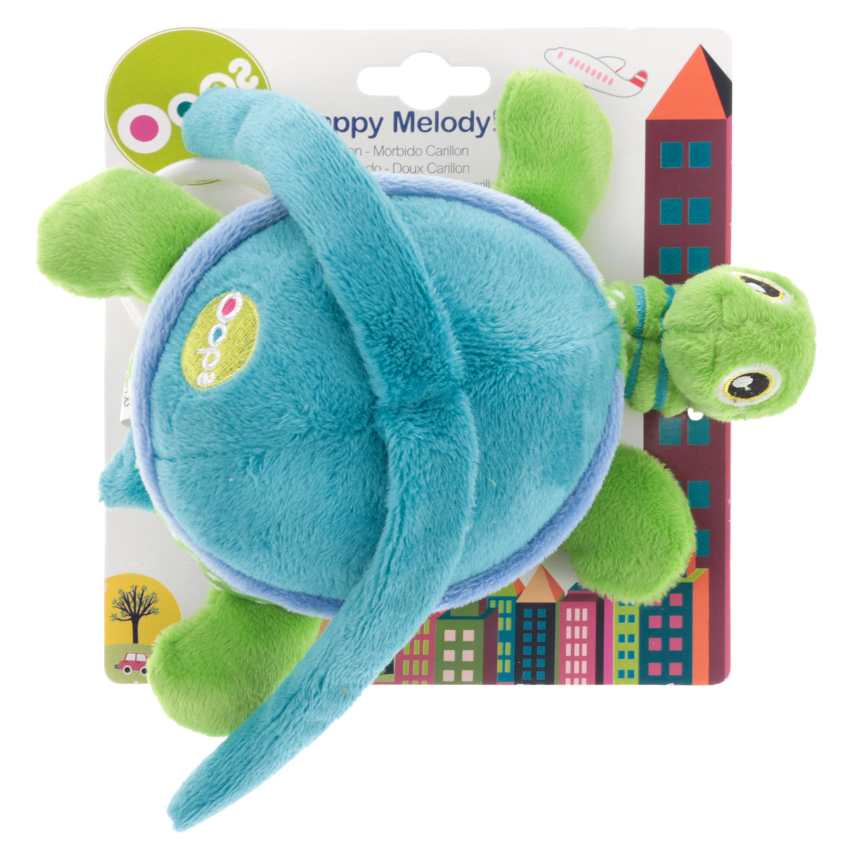 Музыкальная игрушка-подвеска OOPS Черепаха. 12002.00 подвесные игрушки oops музыкальная кошка