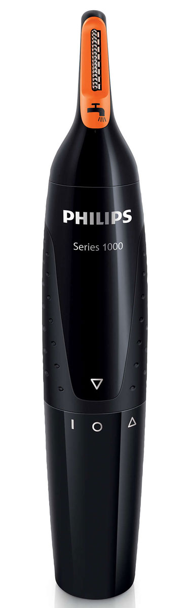 Philips NT1150/10 триммер для носа и ушейNT1150/10Philips NT1150/10 предназначен для бережного удаления нежелательных волосков в носу и ушах. Технология ProtecTube и удобный угол наклона обеспечивают быстрое, простое и комфортное подравнивание без неприятных ощущений.Усовершенствованная система защиты от порезов и выдергивания волосковБлагодаря технологии ProtecTube режущий элемент защищен специальной ультратонкой сеткой с закругленными кончиками, которые предотвращают раздражение кожи. Более того, два лезвия движутся независимо друг от друга, поэтому прибор не выдергивает волоски.Оптимальный угол наклона триммера позволяет легко подравнивать волоски в ушах и носу — вы можете быть уверены в эффективности удаления нежелательных волос. Высокоточные прорези в неподвижном и вращающемся ножах обеспечивают эффективное и быстрое подравнивание волос. Триммер можно мыть под водой и использовать в душе. Благодаря возможности работы от батареи типа AA триммер всегда готов к использованию.