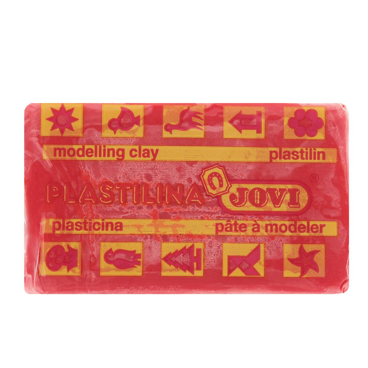 Jovi Пластилин, цвет: красный, 50 г всё для лепки jovi паста для моделирования отвердевающая 500 г