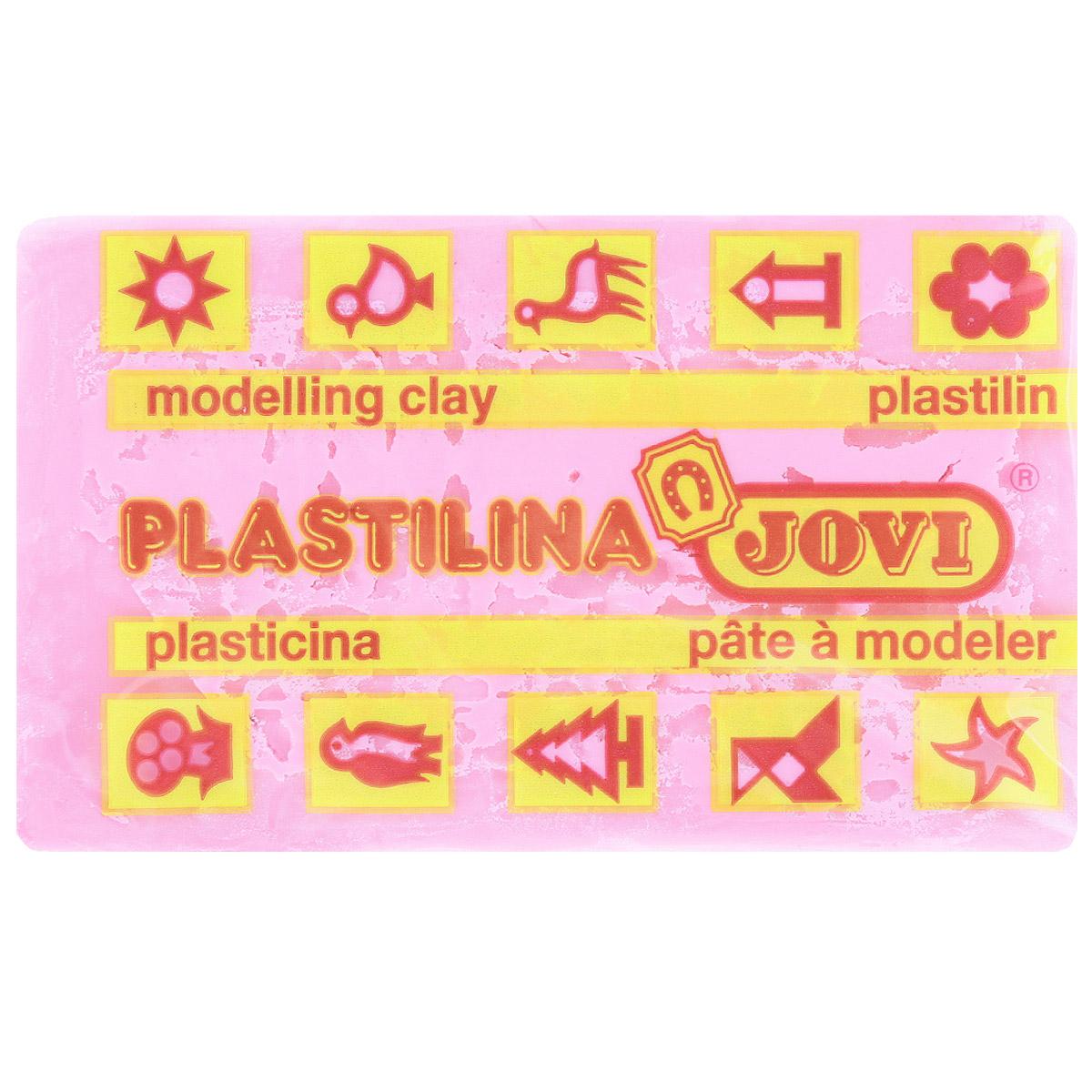 Jovi Пластилин флюоресцентный цвет ярко-розовый 50 г70F-U_розовыйПластилин Jovi - лучший выбор для лепки, он обладает превосходными изобразительными возможностями и поэтому дает простор воображению и самым смелым творческим замыслам. Пластилин, изготовленный на растительной основе, очень мягкий, легко разминается и смешивается, не пачкает руки и не прилипает к рабочей поверхности. Пластилин пригоден для создания аппликаций и поделок, ручной лепки, моделирования на каркасе, пластилиновой живописи - рисовании пластилином по бумаге, картону, дереву или текстилю. Пластические свойства сохраняются в течение 5 лет.
