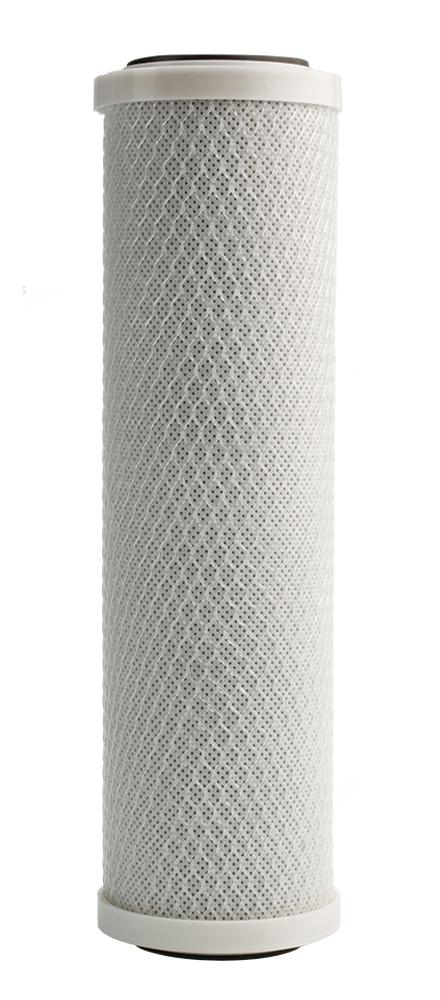 """Фильтроэлемент Барьер """"Профи Карбон-блок"""" - это дополнительная очистка воды от хлора,  хлорорганических соединений, фенола и других соединений органических и неорганических  веществ. Также фильтроэлемент предназначен для дополнительной тонкой очистки от  механических загрязнений. Устанавливается на вторую ступень очистки водоочистителя Барьер """"Профи Карбон-блок"""".  Характеристики: 10000 литров.  Максимальный расход:  2 л/мин.  Тонкость фильтрования: 10 мкм."""