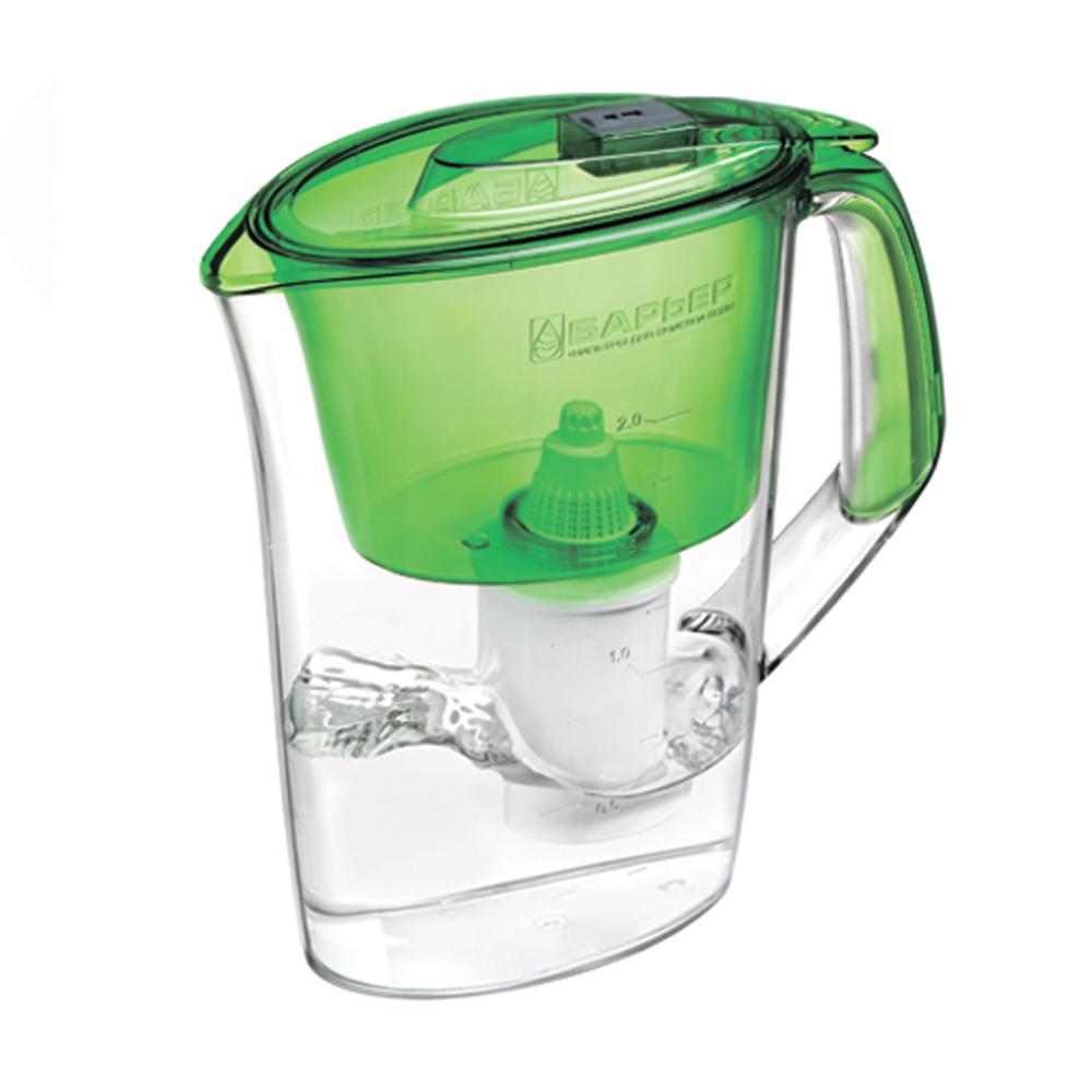 "Фильтр-кувшин для воды Барьер ""Стайл"", цвет: зеленый, Барьер / Barrier"