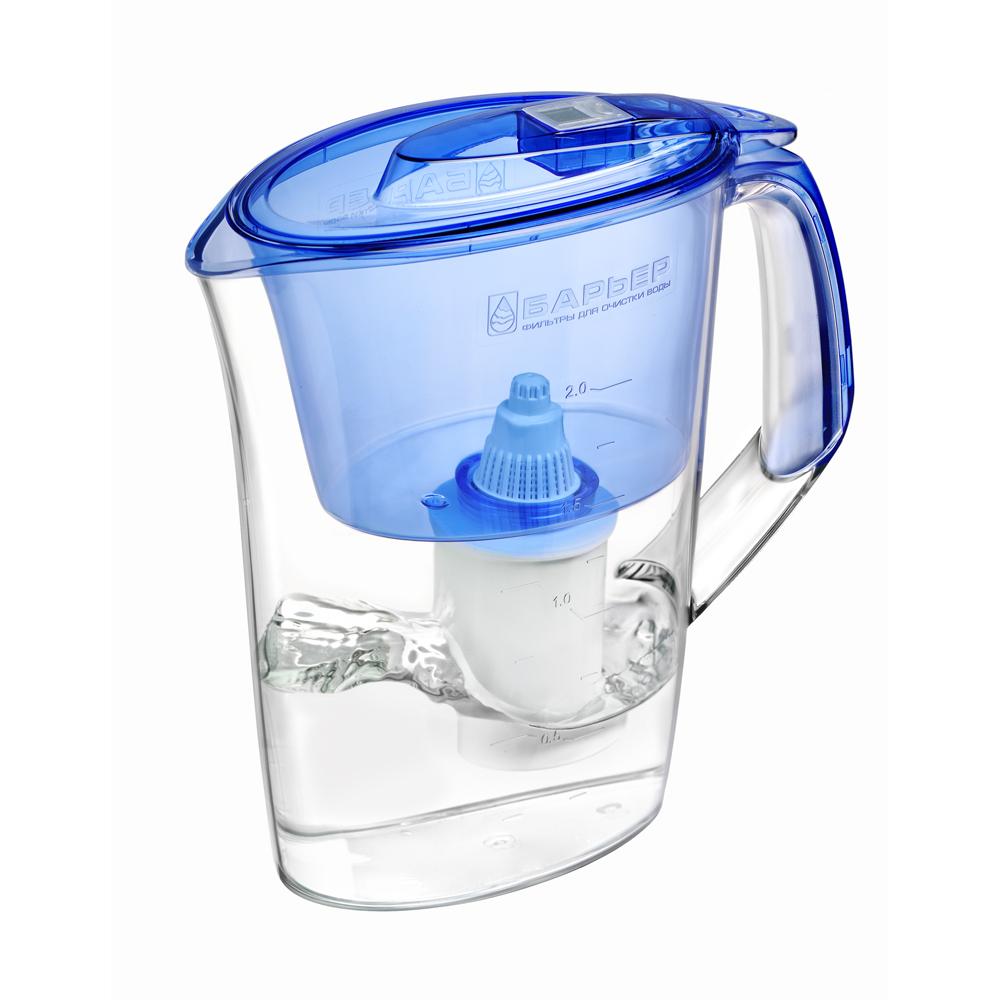 Фильтр-кувшин Барьер  Премия , цвет: голубой - Фильтры для воды
