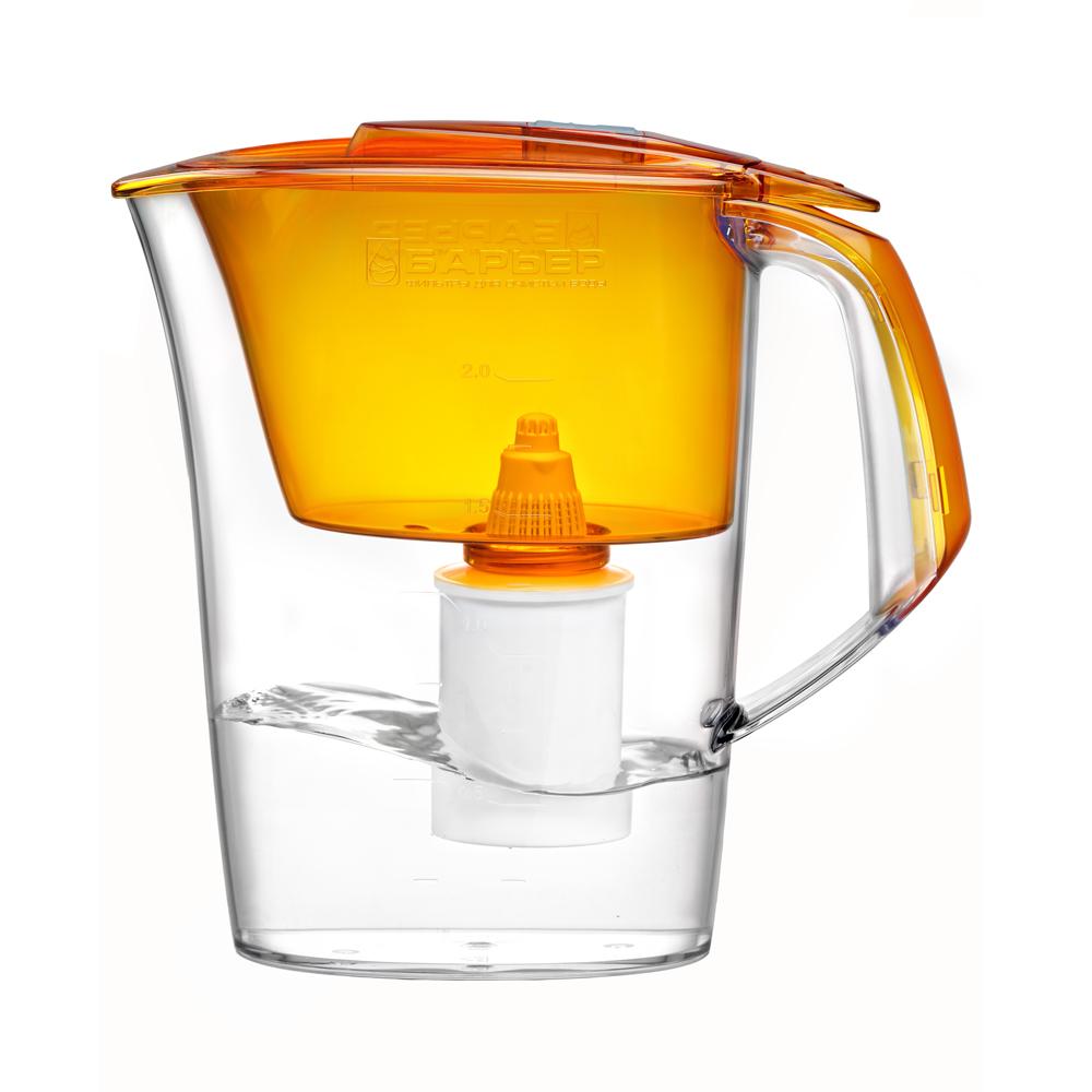 Фильтр-кувшин Барьер  Премия , цвет: оранжевый - Фильтры для воды