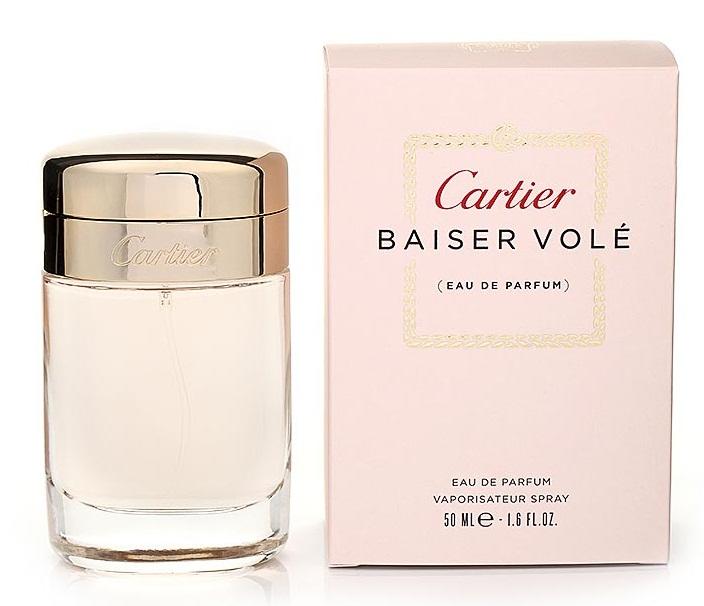 Cartier Парфюмерная вода Baiser Vole, женская, 50 мл парфюмерная вода cartier cartier baiser vole парфюмированная вода 50 мл спрей