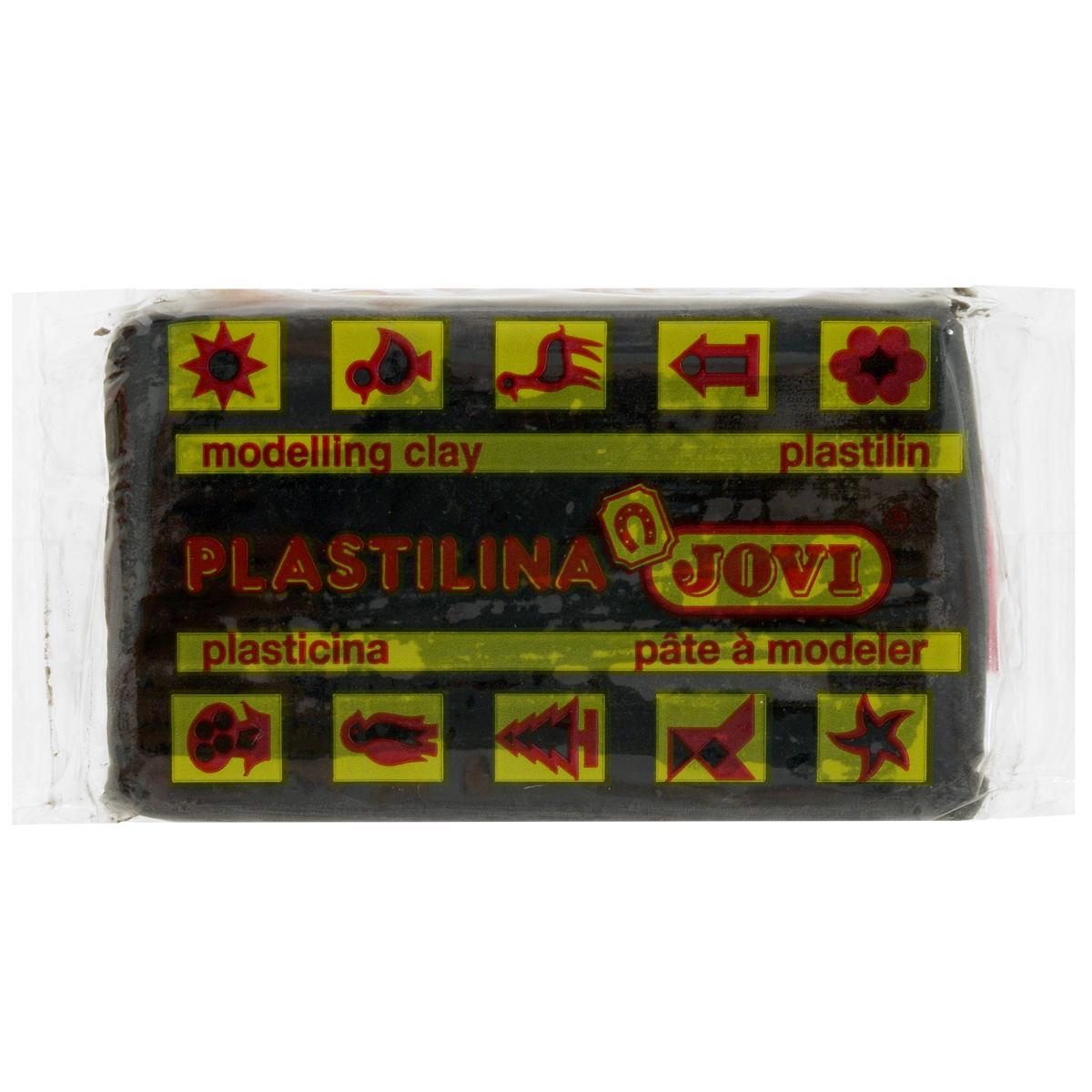 Jovi Пластилин, цвет: черный, 50 г70/30UПластилин Jovi - лучший выбор для лепки, он обладает превосходными изобразительными возможностями и поэтому дает простор воображению и самым смелым творческим замыслам. Пластилин, изготовленный на растительной основе, очень мягкий, легко разминается и смешивается, не пачкает руки и не прилипает к рабочей поверхности. Пластилин пригоден для создания аппликаций и поделок, ручной лепки, моделирования на каркасе, пластилиновой живописи - рисовании пластилином по бумаге, картону, дереву или текстилю. Пластические свойства сохраняются в течение 5 лет.