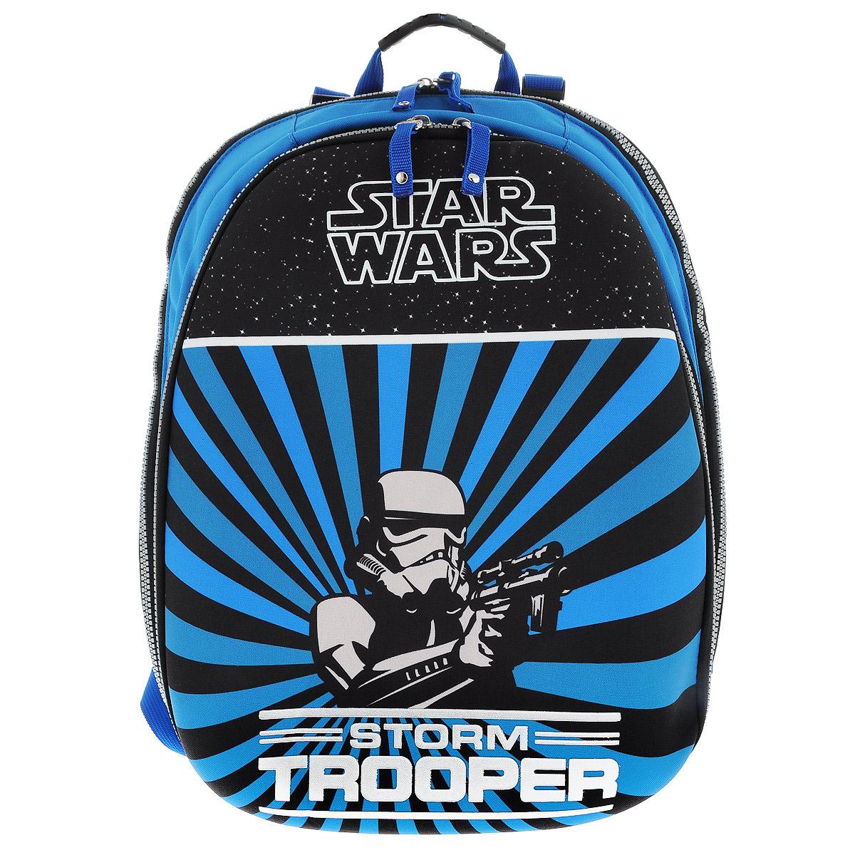 Рюкзак Star Wars  Storm Trooper , цвет: синий, черный. 37474_Storm Trooper -  Ранцы и рюкзаки
