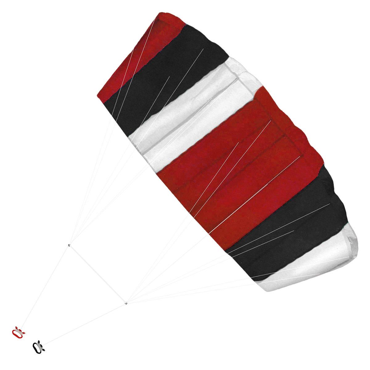 Воздушный змей Simba Sky Artist, цвет: красный, черный, 120 см х 55 см купить воздушный змей в петербурге
