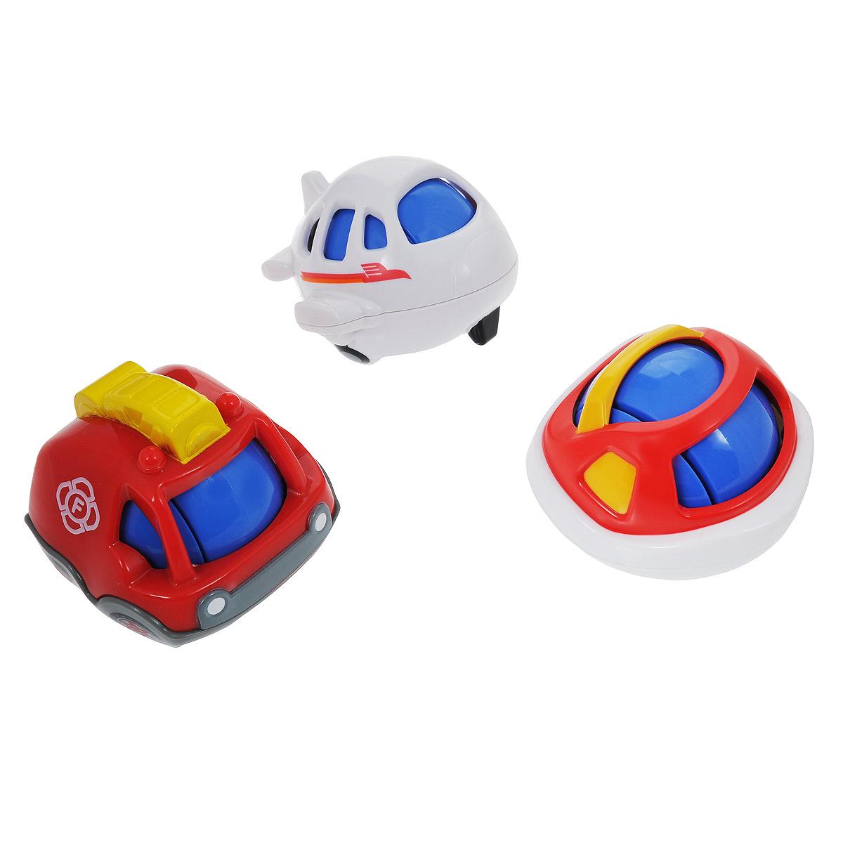 Playgo Развивающая игрушка Игровой транспорт, 3 предмета игрушки интерактивные playgo интерактивная игрушка телевизор