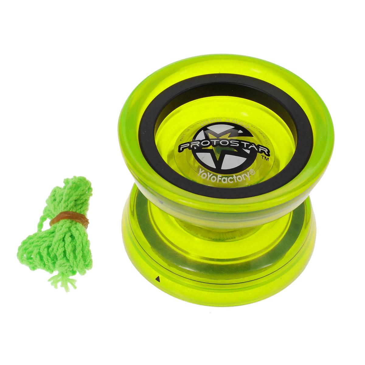 Йо-йо YoYoFactory Protostar, цвет: зеленый йо йо duncan raptor href