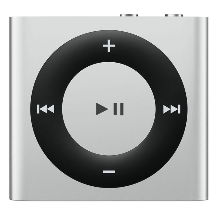 Apple iPod Shuffle 2 GB, White Silver MP3-плеер