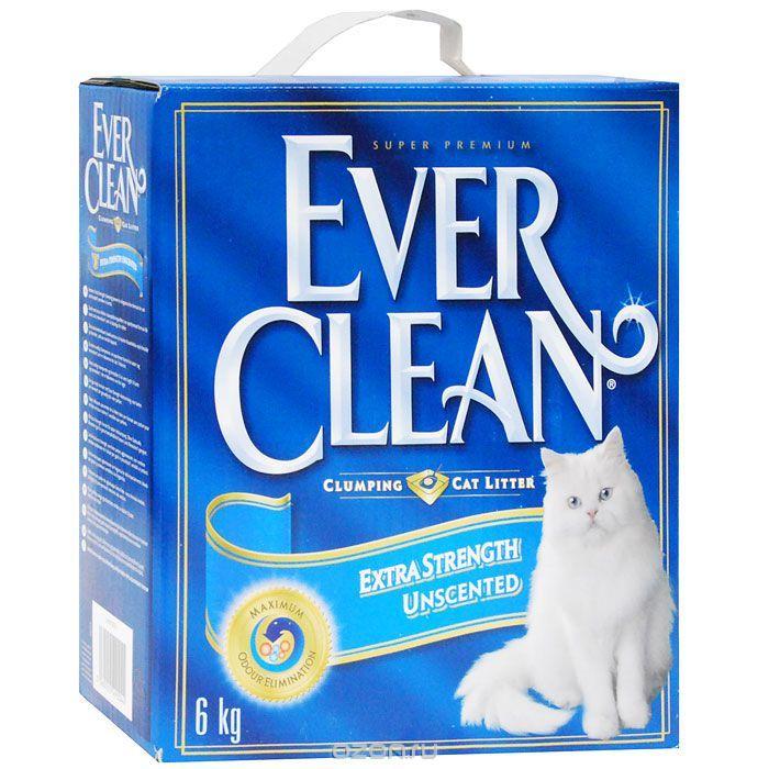 Наполнитель для кошачьего туалета Ever Clean Extra Strength Unscented, комкующийся, 6 кг440065Наполнитель Ever Clean Extra Strength Unscented - это элитная серия высококачественных комкующихся наполнителей с уникальными свойствами. Наполнитель состоит из специально обработанной и очищенной от пыли глины. Гранулы наполнителя обладают уникальными впитывающими свойствами и содержат активный компонент, который уничтожает запах, связанный с развитием микробов. В ядро каждой гранулы помещен специальным образом обработанный активированный уголь для максимального контроля запахов. Гранулы наполнителя не только отлично впитывают, но и образуют крепкие трудноразбиваемые комки.Состав: глина, активированный уголь. Вес: 6 кг.Товар сертифицирован.