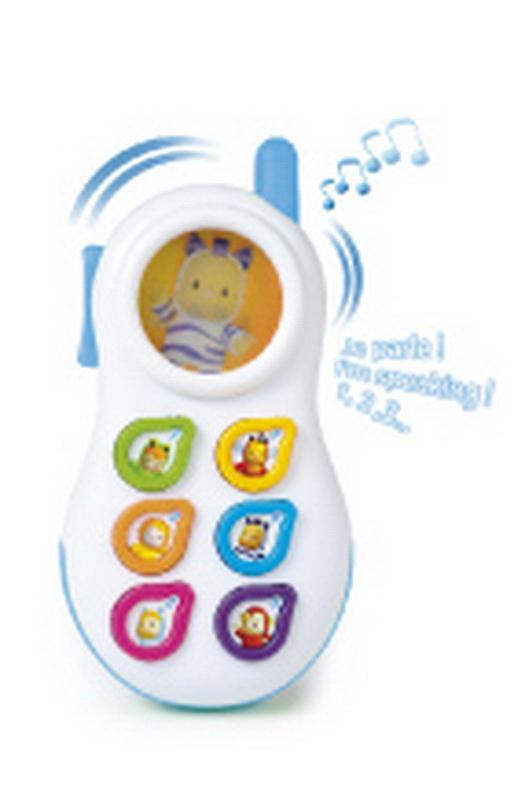 Smoby Развивающая игрушка Телефон цвет голубой smoby smoby телефон со светом звуком
