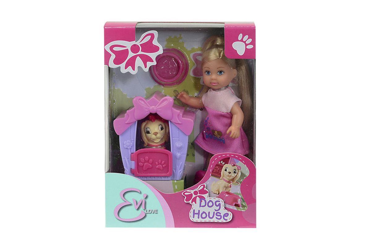 Simba Кукла Еви с собачкой в домике simba кукла evi