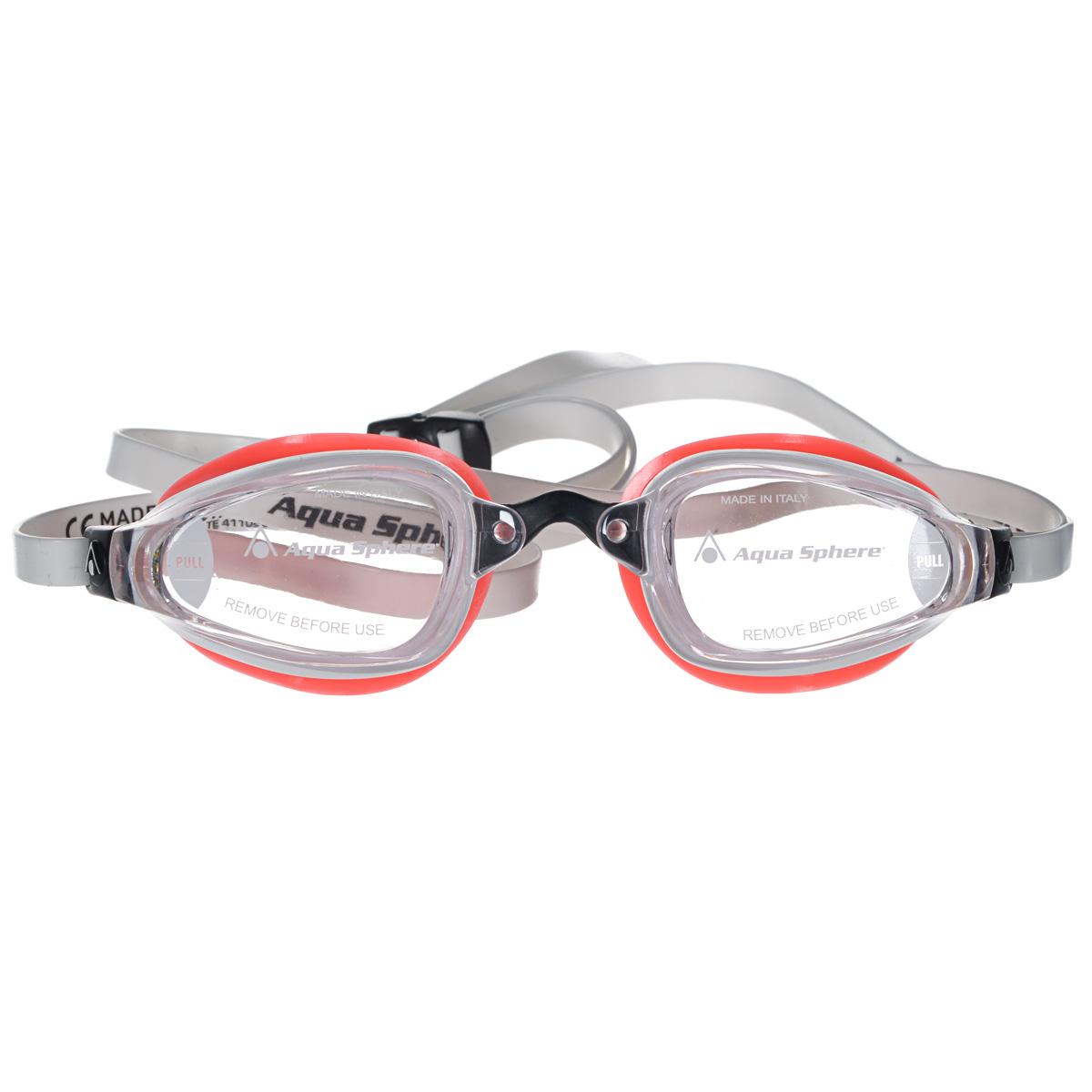 Очки для плавания Aqua Sphere K180 Lady, цвет: белый, розовый очки для плавания aqua sphere k180 lady цвет белый розовый
