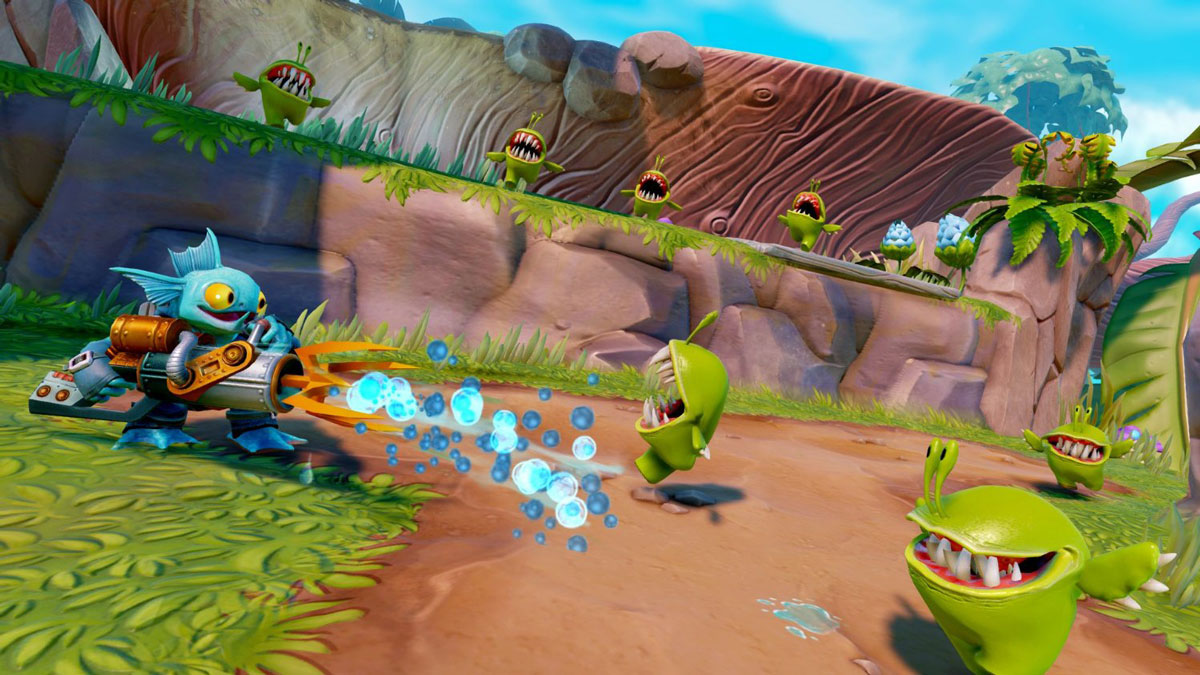 Skylanders Trap Team. Интерактивная фигурка Tidal Wave Gill Grunt Toys For Bob