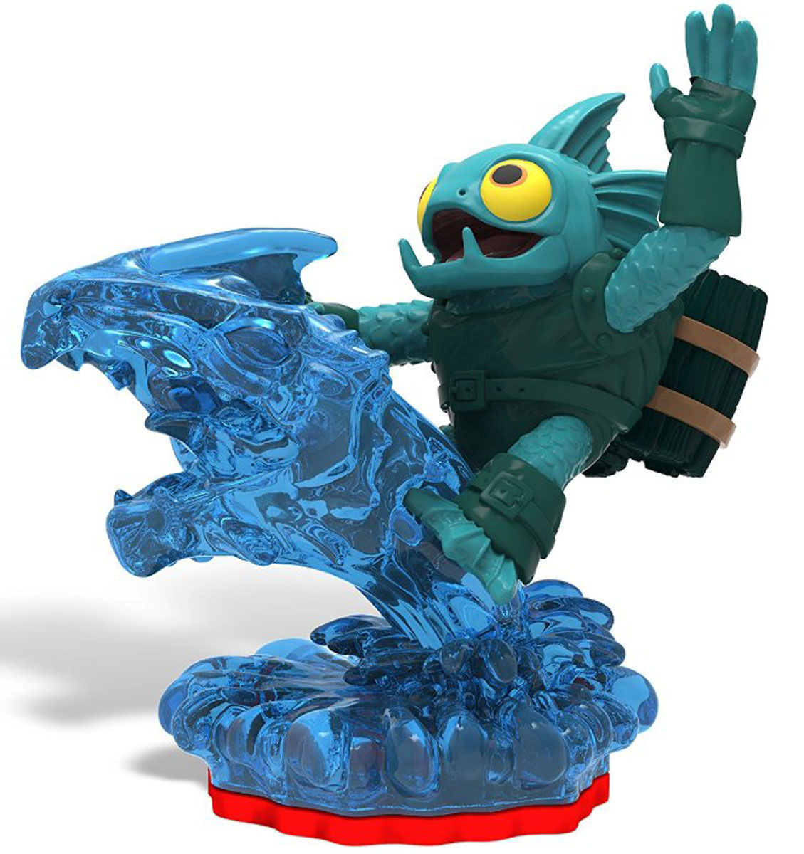 Skylanders Trap Team. Интерактивная фигурка Tidal Wave Gill Grunt, Toys For Bob