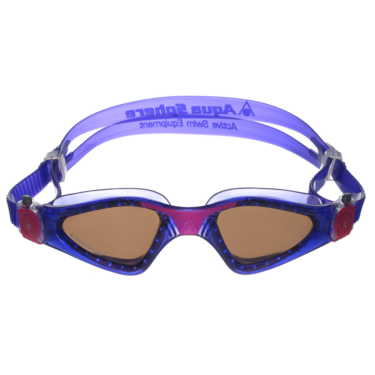 Очки для плавания Aqua Sphere Kayenne Lady, цвет: фиолетовый, розовый, черныйTN 172750Модные и стильные очки для плавания Aqua Sphere Kayenne Lady идеально подходят для плавания в бассейне или открытой воде. Оснащены линзами с антизапотевающим покрытием, которые устойчивы к появлению царапин. Мягкий комфортный обтюратор плотно прилегает к лицу.Запатентованные изогнутые линзы дают прекрасный обзор на 180° - без искажений. Рамка имеет гидродинамическую форму. Очки оснащены удобными быстрорегулируемыми пряжками.Материал: софтерил, plexisol.