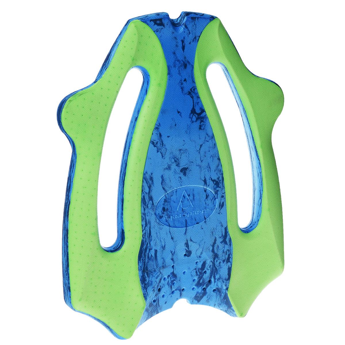 Доска для плавания Aqua Sphere ErgoBoard, цвет: синий, зеленый цена
