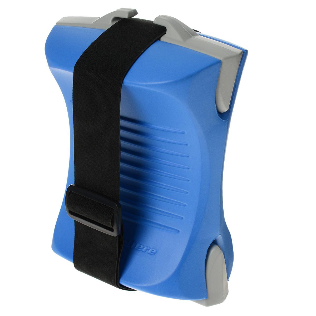 Колобашка Aqua Sphere ErgoBuoy, цвет: синийSP 301215Колобашка Aqua Sphere ErgoBuoy предназначена для фиксации ног и увеличении нагрузки на мышцы рук при плавании.Особенности колобашки:Эргономичный дизайн позволяет удобно и надежно зафиксировать ваши ноги.Опциональный ремень с быстроразъемной пряжкой.Съемные вставки позволяют менять плавучесть Изготовлено из прочного и хлороустойчивого полимера EVA.