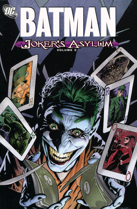 Batman: Volume 2: Joker's Asylum dc comics машинка batcycle