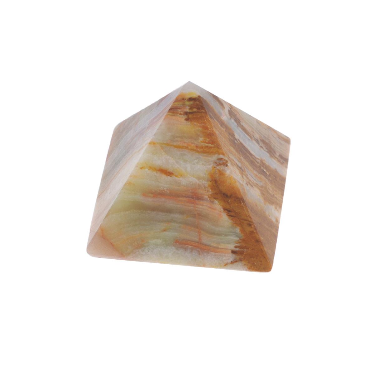 Сувенир Sima-land Пирамида, 3 см х 3 см х 3,5 см593718Сувенир Sima-land Пирамида выполнен из натурального оникса. Этот камень помогает снимать стрессы, облегчает боль, способствует эмоциональному равновесию и самоконтролю. Его применяют при расстройстве нервной системы, депрессиях, бессоннице, при лечении болезней сердца. Оникс хорошо снимает боли и уменьшает воспаления. Сувенир Sima-land Пирамида станет отличным подарком на любой праздник и дополнит интерьер вашей комнаты. УВАЖАЕМЫЕ КЛИЕНТЫ!Обращаем ваше внимание на тот факт, что цветовой оттенок товара может отличатся от представленного на изображении, поскольку фигурка выполнена из натурального камня. Учитывайте это при оформлении заказа.