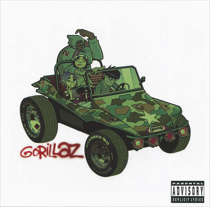 Gorillaz Gorillaz. Gorillaz gorillaz – humanz cd