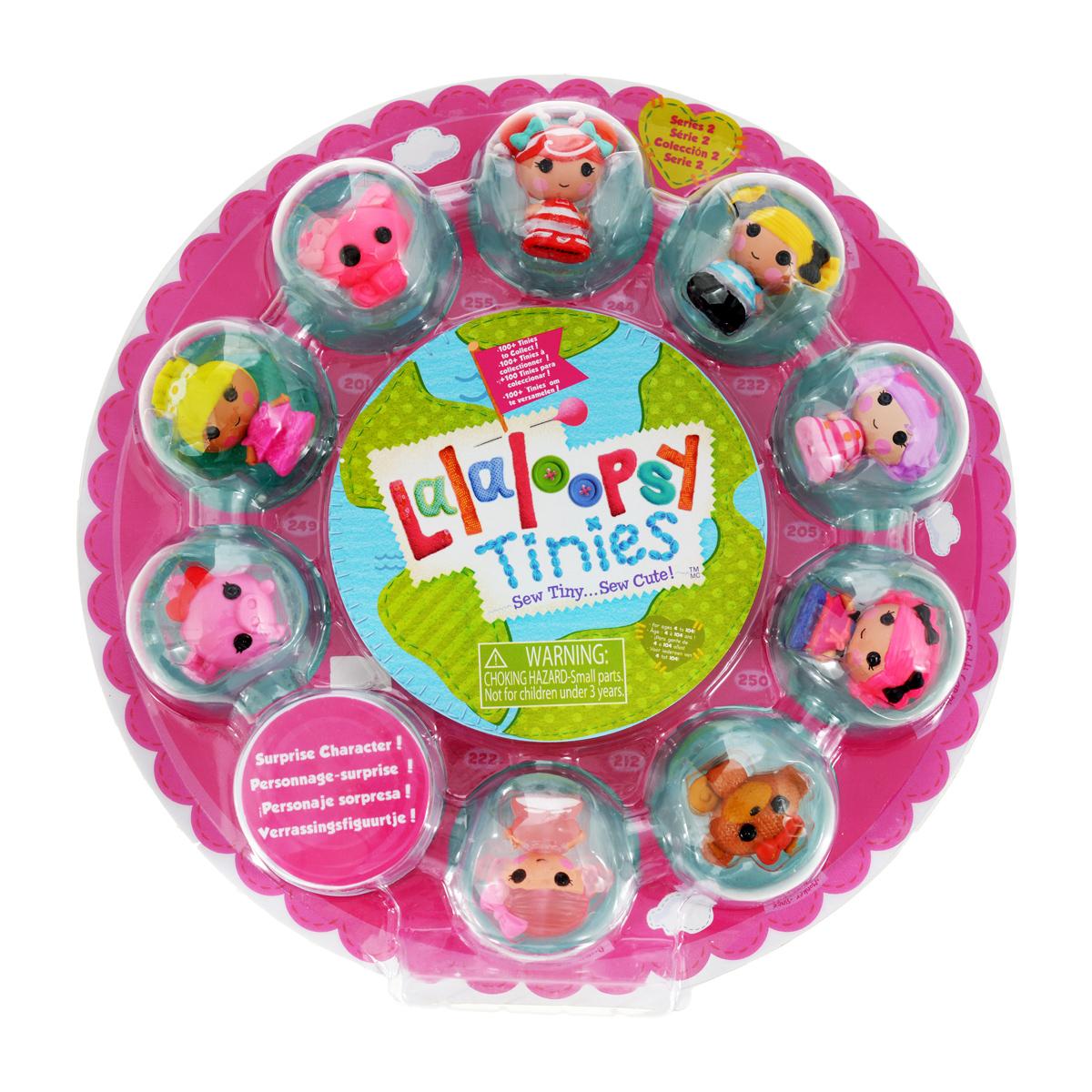Lalaloopsy Набор фигурок Малютки Series 2 цвет розовый lalaloopsy малютки
