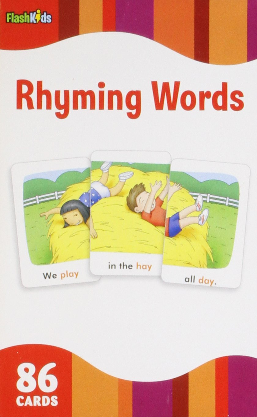 Rhyming Words Flashcards (86 cards) berlitz kids 1000 italian words