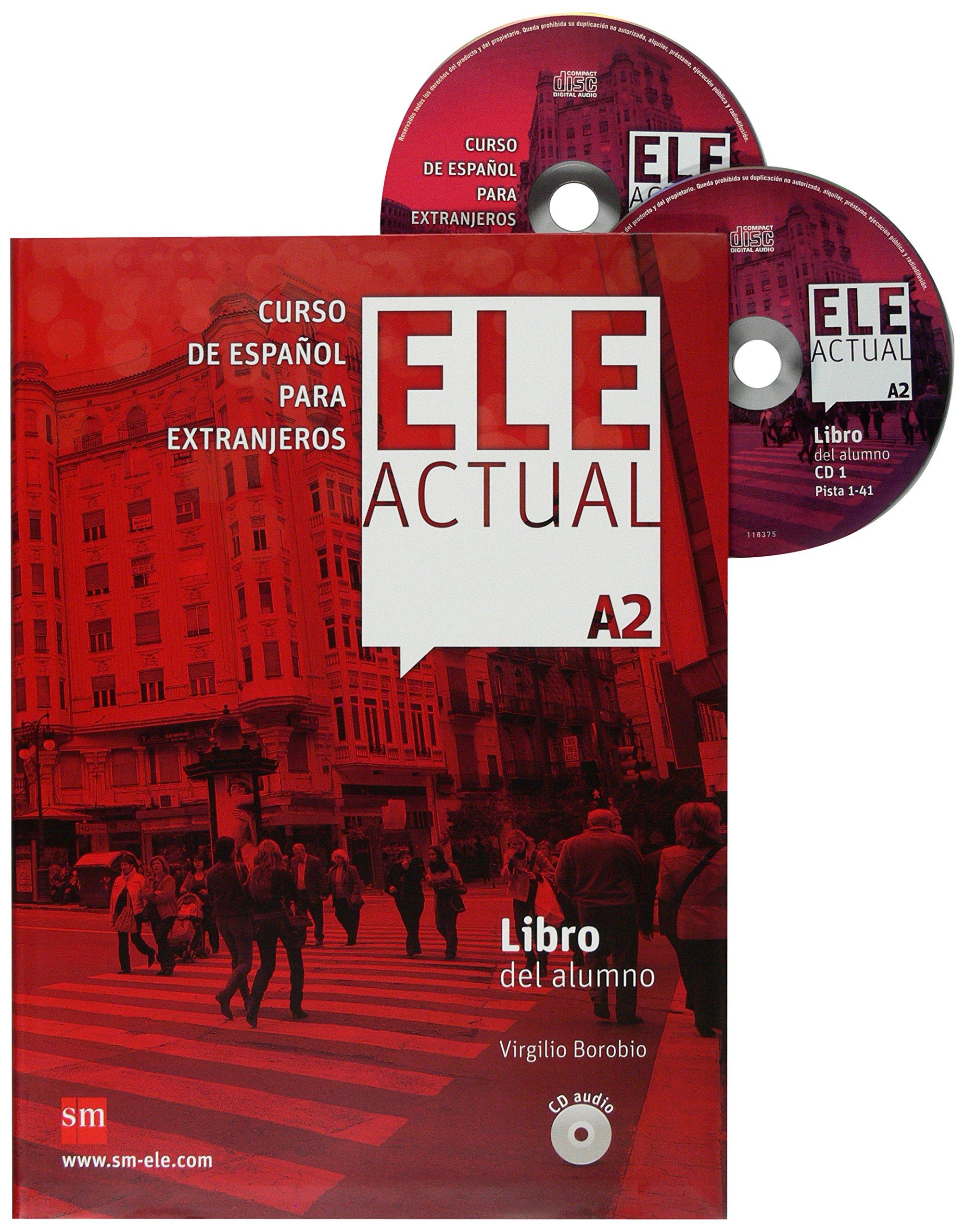 ELE Actual A2. Libro del Alumno+CD audio