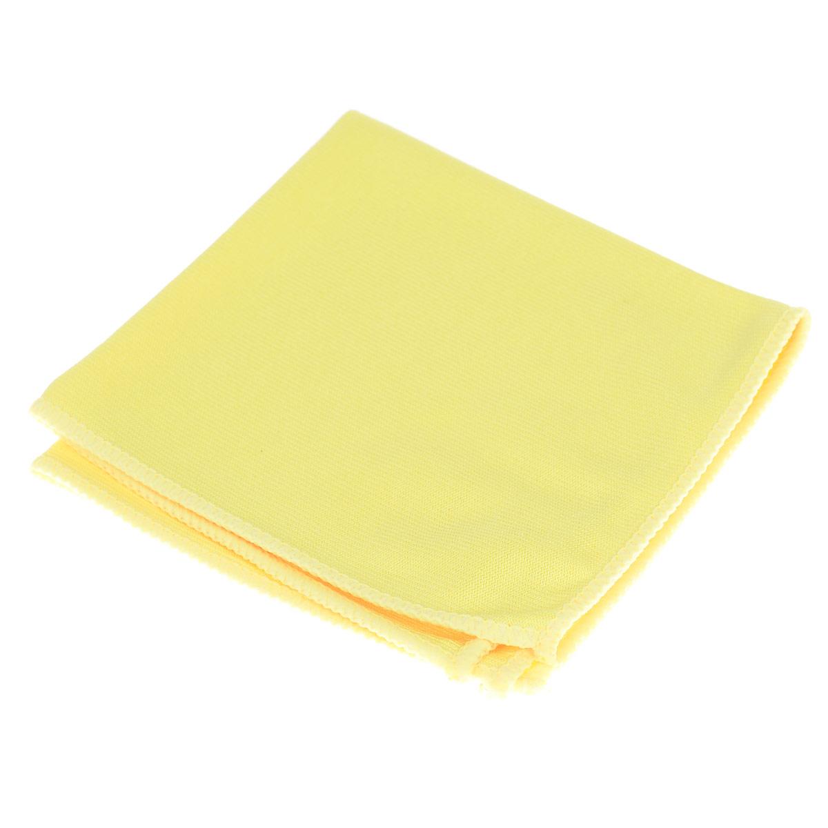 Салфетка для стекол и зеркал Celesta, из микрофибры, цвет: желтый, 30 х 30 см11623_желтый, 4771Салфетка из микрофибры Celesta предназначена для мытья оконных стекол, зеркал и других стеклянных поверхностей. Благодаря специальной структуре волокон справляется с сильными загрязнениями без использования моющих средств. Хорошо полирует поверхность.Выдерживает до 200-300 стирок. Состав: полиэстер 80%, полиамид 20%.Размер салфетки: 30 х 30 см.