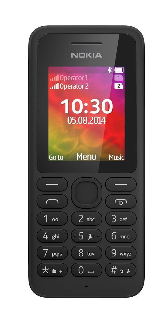 Nokia 130 Dual Sim, BlackA00021150Этот телефон заключает в себе все, за что мы так любим Нокиа: крепкий и красивый корпус, долгоиграющая батарейка и надежная связь. Возможность проигрывать музыку и видео, поддержка карт памяти. Ну и конечно фонарик!