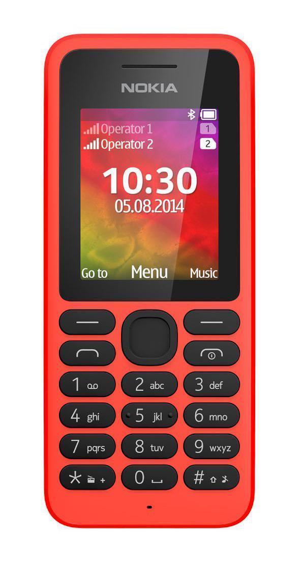 Nokia 130 Dual Sim, RedA00021152Этот телефон заключает в себе все, за что мы так любим Нокиа: крепкий и красивый корпус, долгоиграющая батарейка и надежная связь. Возможность проигрывать музыку и видео, поддержка карт памяти. Ну и конечно фонарик!