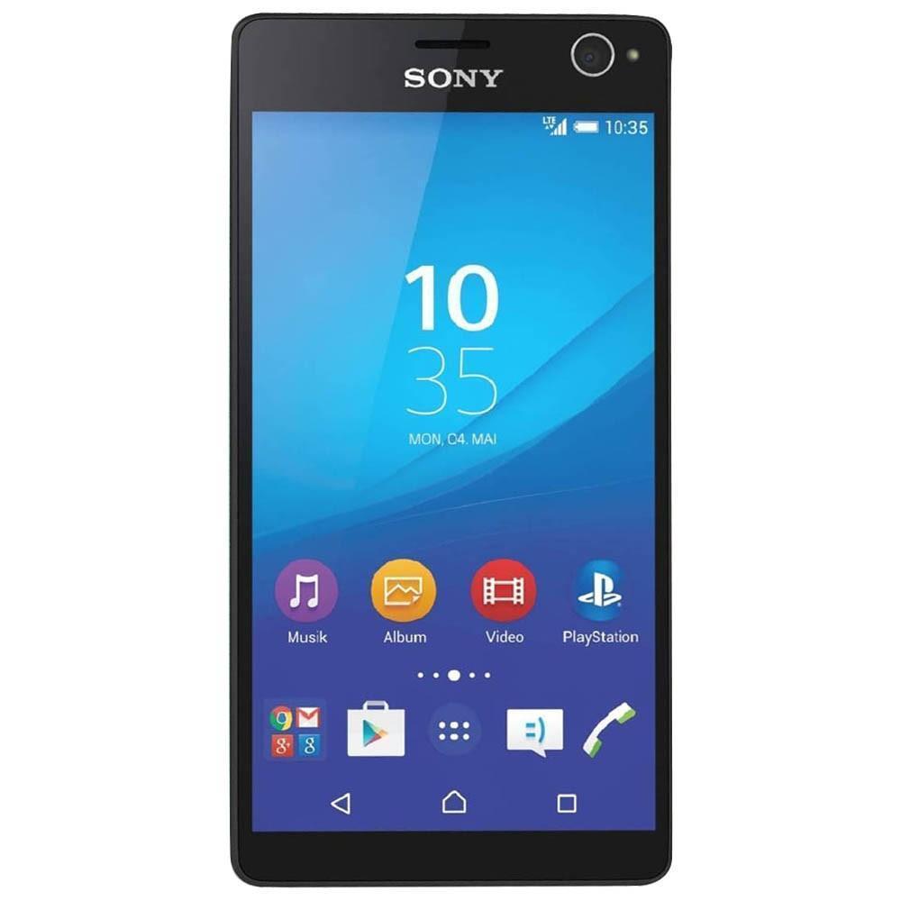 Sony Xperia C4, Black1301-4869Xperia C4Делайте настоящие шедевры селфи. Все необходимое для съемки PROselfie в быстром смартфоне с дисплеем Full HDИдеальные снимки вас и ваших друзейПредставляем Xperia C4 - смартфон для селфи нового поколения. Помимо впечатляющей 13-мегапиксельной основной камеры, смартфон имеет 5-мегапиксельную фронтальную камеру, оснащенную светодиодной вспышкой и широкоугольным объективом. В Xperia C4 есть все, чтобы снимать фото и видео уровня PROselfie.PROselfie при любом освещенииС Xperia C4 сделать отличное селфи не проблема. Благодаря передовым технологиям Sony и автоматической настройке параметров съемки получить четкий и яркий автопортрет можно даже при тусклом свете. В темное время осветить объект поможет светодиодная вспышка.Как сделать отличное селфи еще лучшеЕсли вы подобрали хороший кадр, сделать его неподражаемым вам помогут разнообразные приложения для камеры. В Style Portrait вы сможете добавить ретушь, а с помощью AR Mask - объединить два портрета в один и получить забавное изображение.Смотрите на мир в качестве Full HDXperia C4 оснащен большим и ярким 5,5-дюймовым дисплеем Full HD с улучшенной четкостью и контрастностью. Поэтому, просматривая фотографии друзей, ролики с милыми щеночками или свежие серии любимого сериала, вы сможете рассмотреть каждую деталь.Зачем ждать?Благодаря сверхбыстрому восьмиядерному процессору на Xperia C4 можно комфортно работать с несколькими приложениями, быстро загружать изображения, воспроизводить потоковую музыку, общаться в чате, играть в игры и многое другое. И все это можно делать одновременно без потери производительности. Заряд тоже не подведет: благодаря мощному аккумулятору вы сможете заниматься любимыми делами очень долго.