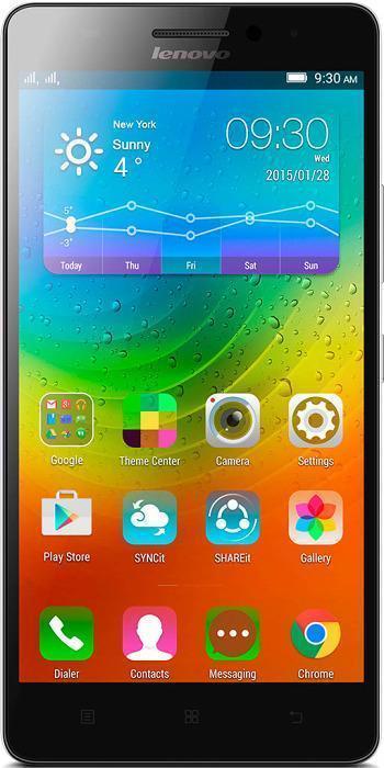 LenovoA7000, WhitePA030010RULenovo A7000 - первый в мире смартфон с поддержкой новейшей технологии Dolby Atmos, обеспечивающей высочайшее качество и насыщенность звука. Благодаря объемному звуку вы сможете открыть новые грани музыки, видео, игр и даже видеочатов.Процессор MediaTek 4G LTE True8Core отличается широкими мультимедийными возможностями и поддерживает функции энергосбережения, продлевающие время работы от аккумулятора. 2 ГБ оперативной памяти обеспечивают высочайшую производительность любых программ.5,5-дюймовый дисплей смартфона Lenovo A7000 отличается кристально четким качеством изображения в играх, при обмене сообщениями, просмотре видео и веб-серфинге. Он основан на технологии IPS, обеспечивающей широчайшие (почти 180°) углы обзора, поэтому отлично подойдет для просмотра фильмов вместе с друзьями.A7000 оснащен задней камерой 8 Мпикс с автоматическим фокусом и фронтальной камерой 5 Мпикс - вы сможете снимать отличные фотографии и селфи, а также мгновенно публиковать их.Вы можете с легкостью увеличить объем накопителя A7000 на 32 ГБ для хранения фото, видео и музыки, установив карту памяти MicroSD.