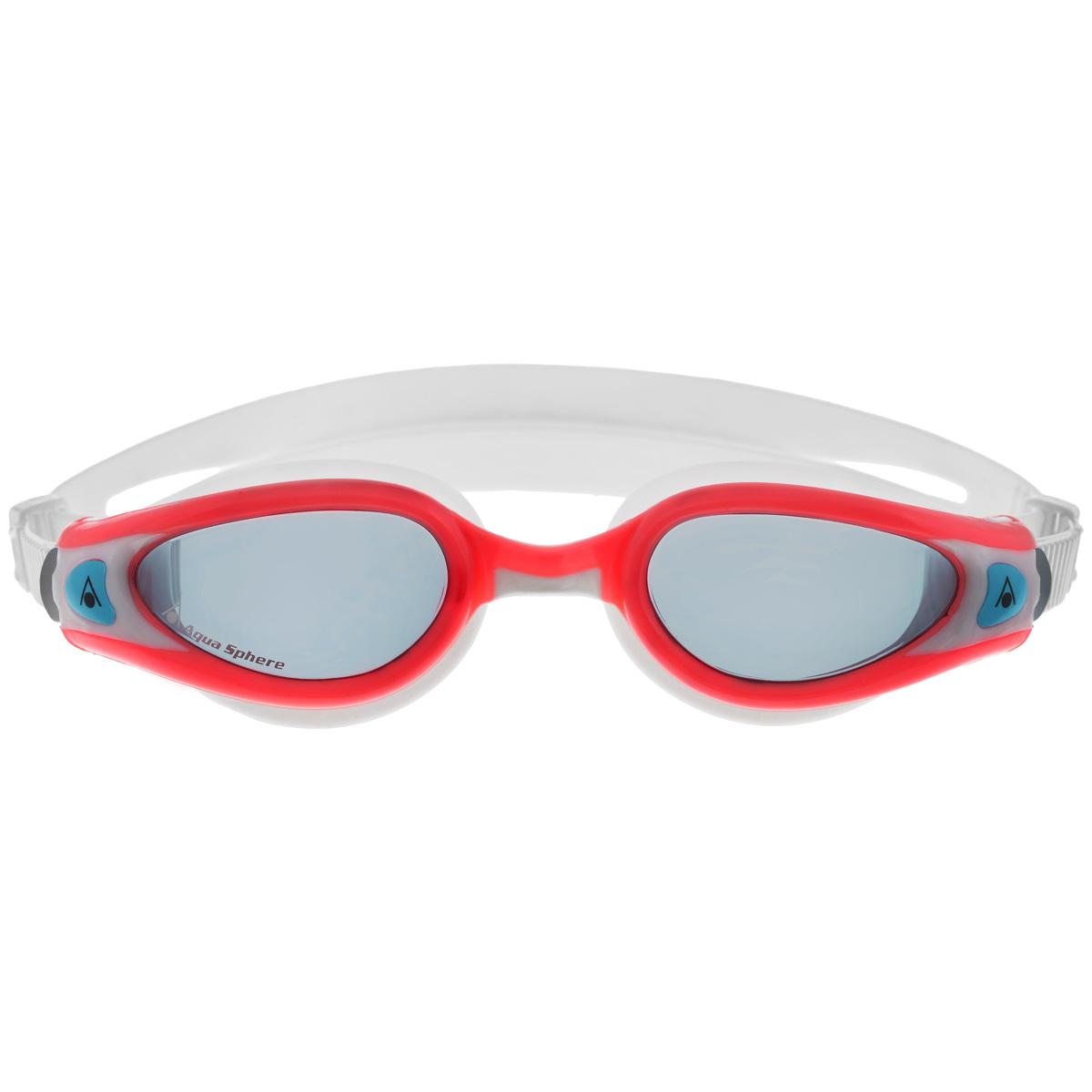 Очки для плавания Aqua Sphere Kaiman Exo Lady, цвет: белый, розовый очки для плавания aqua sphere k180 lady цвет белый розовый