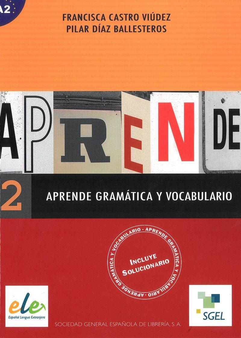 Aprende gramatica y vocabulario: A2 vocabulario elemental a1 a2 2cd